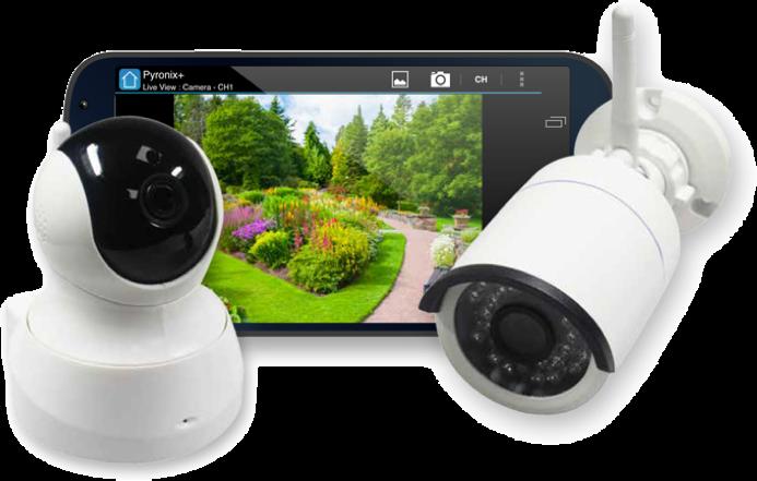 Pyronix I-CAM/PT Internal and X-CAM/S External IP cameras